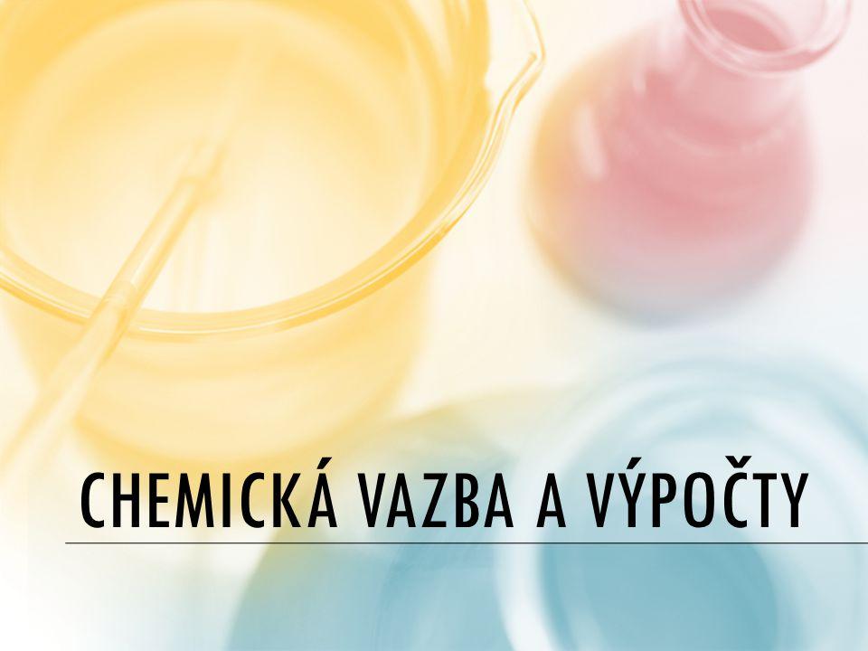 Chemická vazba a výpočty