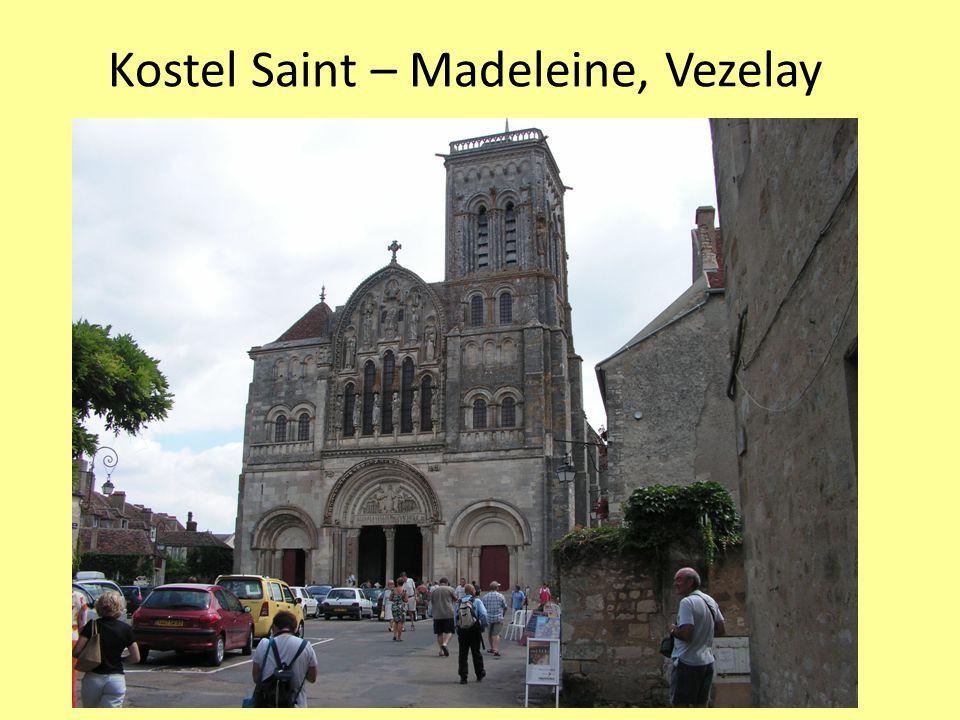 Kostel Saint – Madeleine, Vezelay