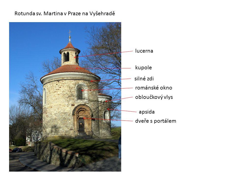 Rotunda sv. Martina v Praze na Vyšehradě
