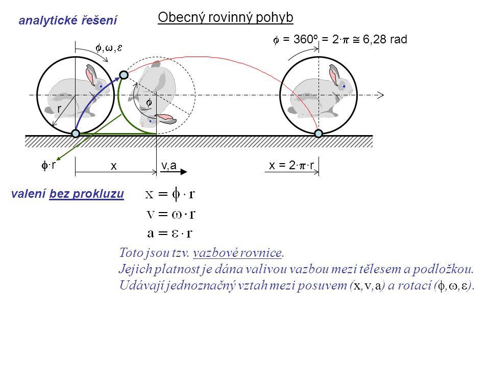 Toto jsou tzv. vazbové rovnice.