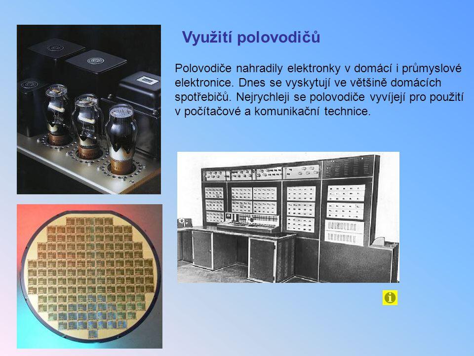 Využití polovodičů