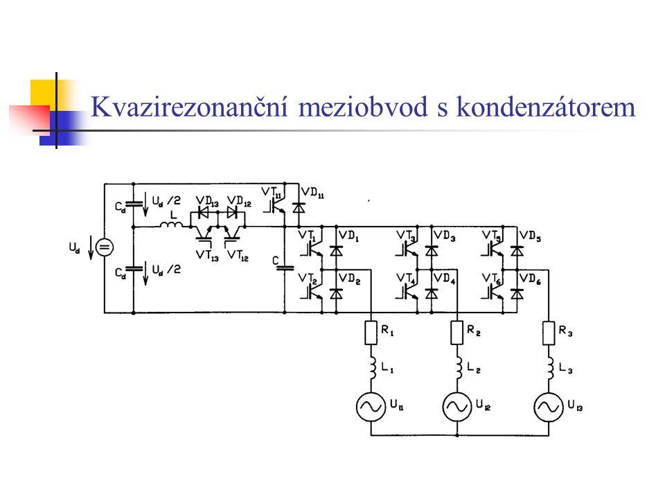 Kvazirezonanční meziobvod s kondenzátorem