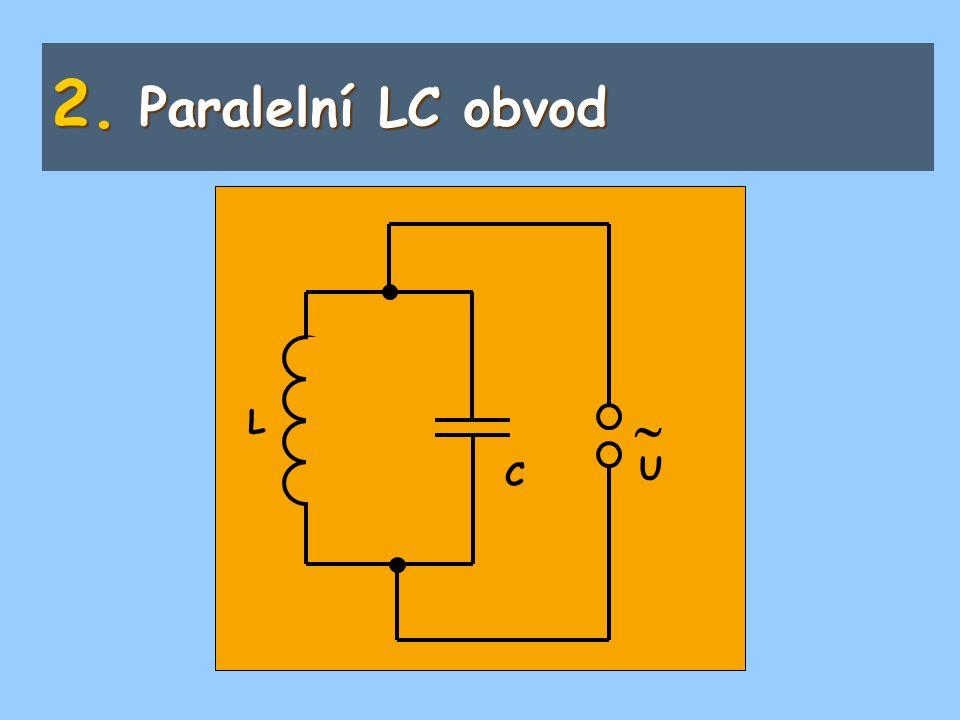 Paralelní LC obvod  L C U