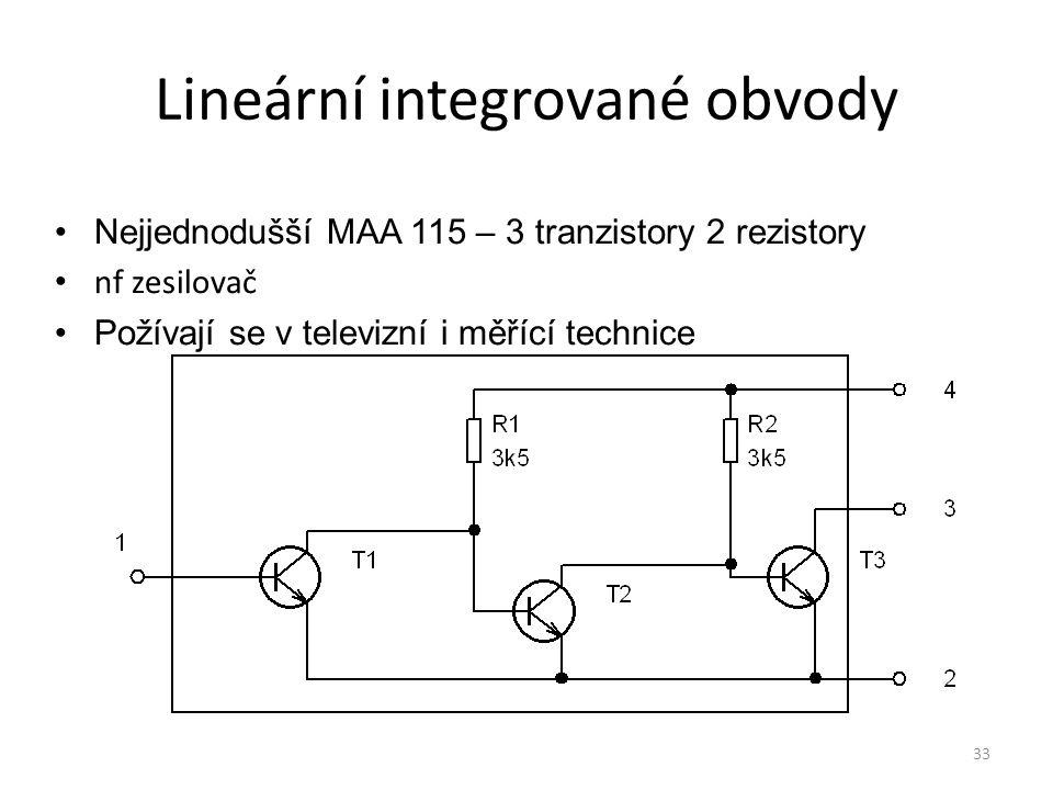 Lineární integrované obvody