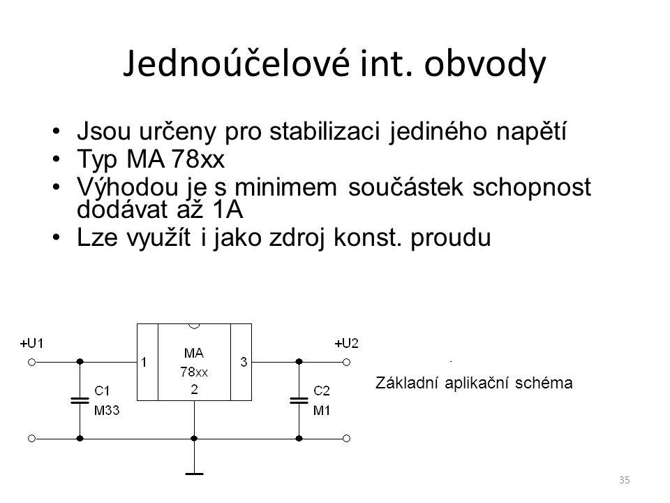 Jednoúčelové int. obvody