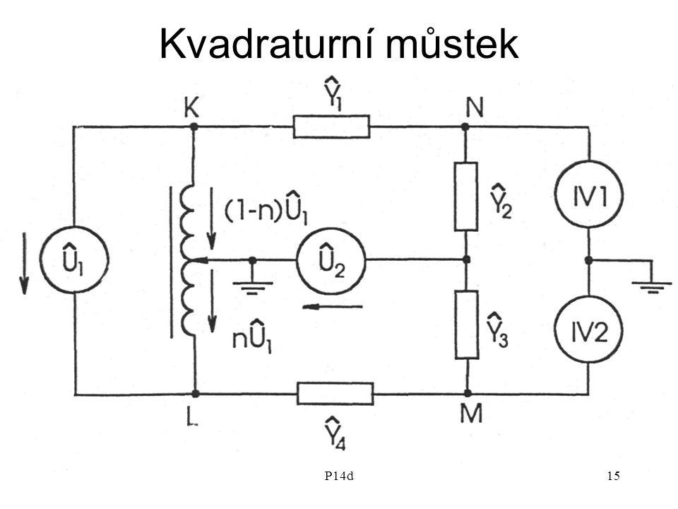 Kvadraturní můstek P14d