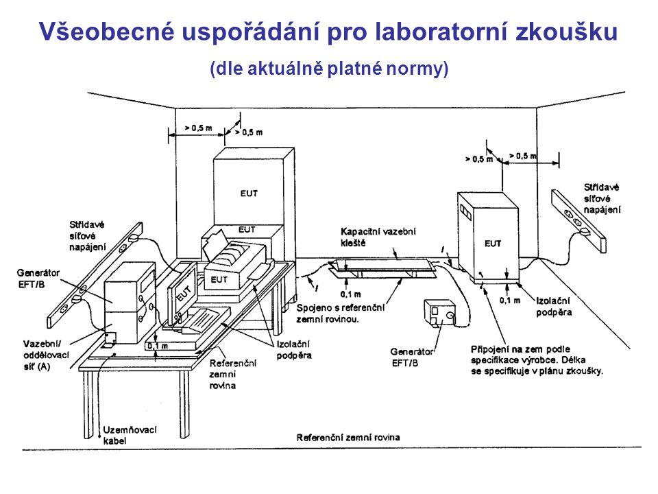 Všeobecné uspořádání pro laboratorní zkoušku