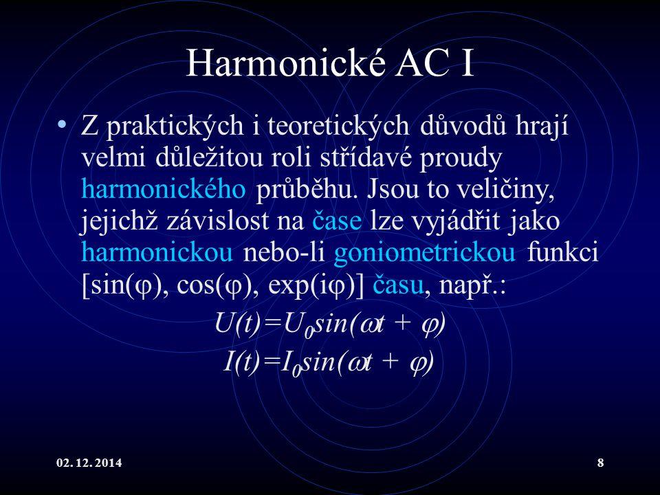 Harmonické AC I