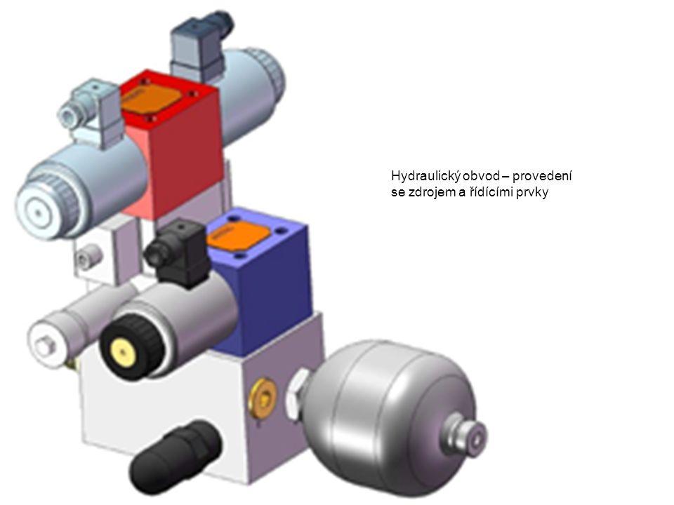 Hydraulický obvod – provedení