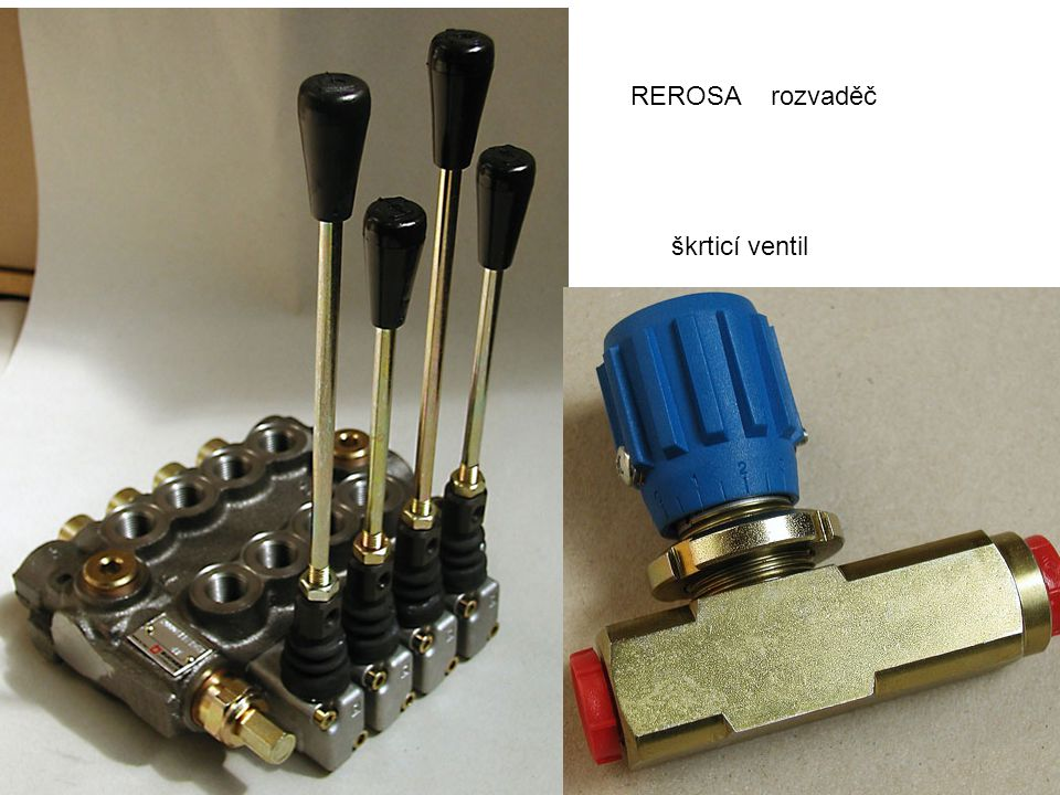 REROSA rozvaděč škrticí ventil