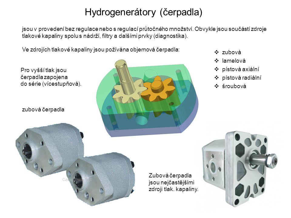 Hydrogenerátory (čerpadla)