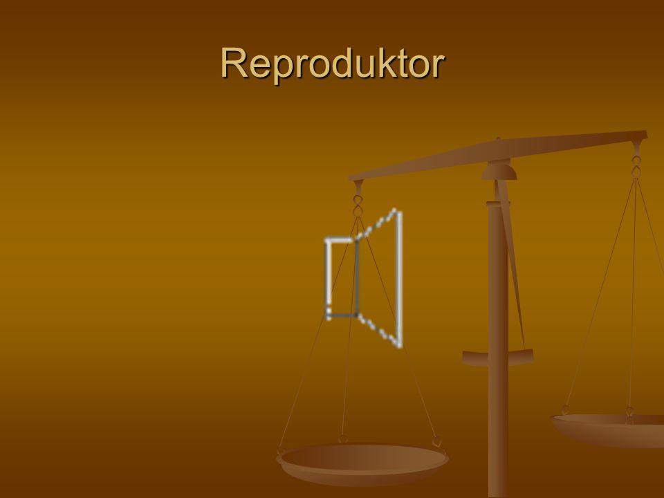 Reproduktor