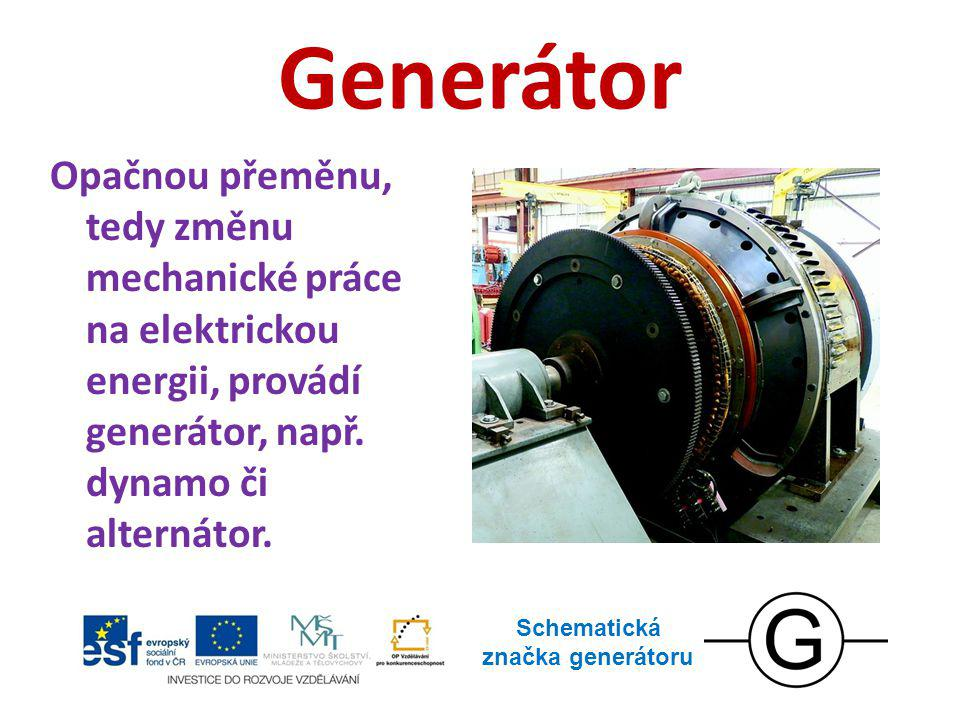 Schematická značka generátoru