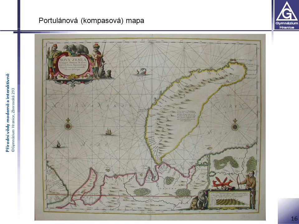 Portulánová (kompasová) mapa