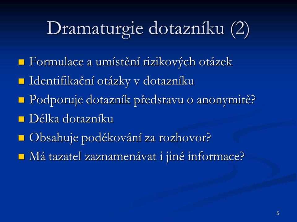 Dramaturgie dotazníku (2)