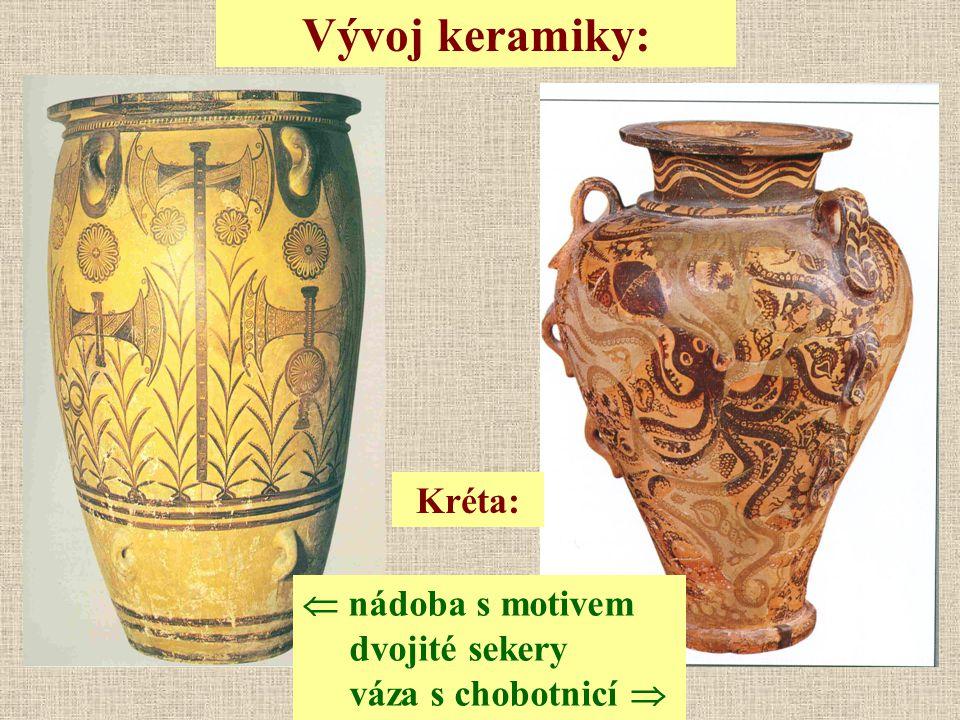Vývoj keramiky: Kréta: