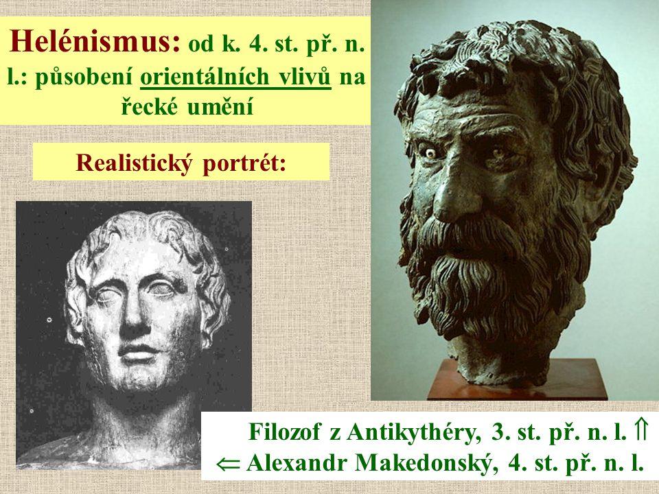 Helénismus: od k. 4. st. př. n. l