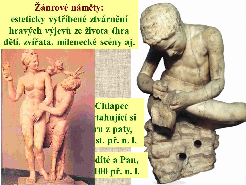 Chlapec vytahující si trn z paty, 3. st. př. n. l.