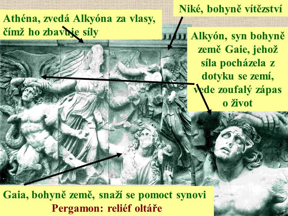 Pergamon: reliéf oltáře