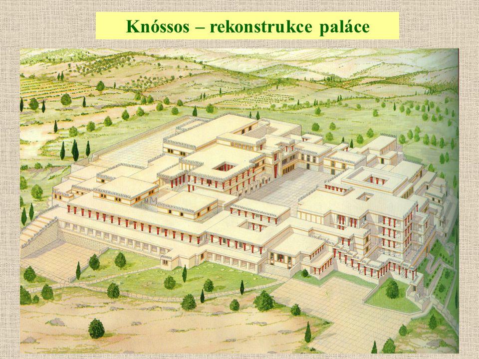 Knóssos – rekonstrukce paláce