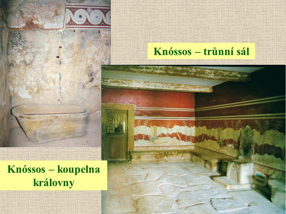Knóssos – koupelna královny