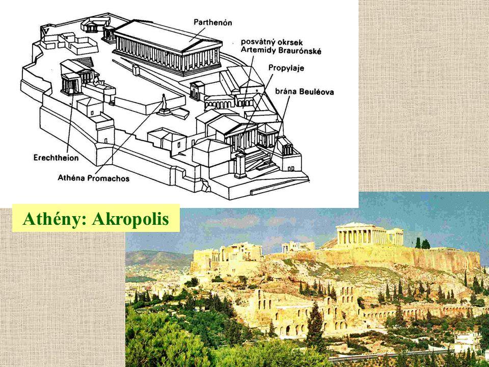 Athény: Akropolis