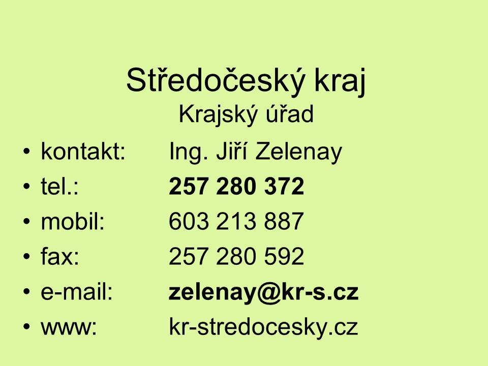 Středočeský kraj Krajský úřad