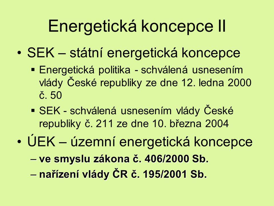 Energetická koncepce II