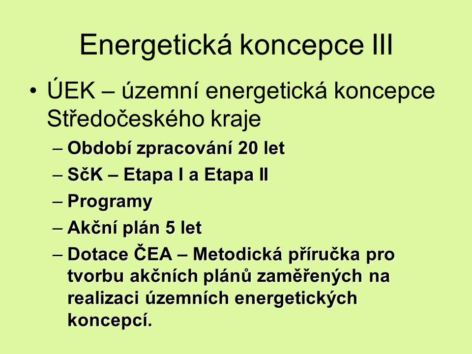 Energetická koncepce III