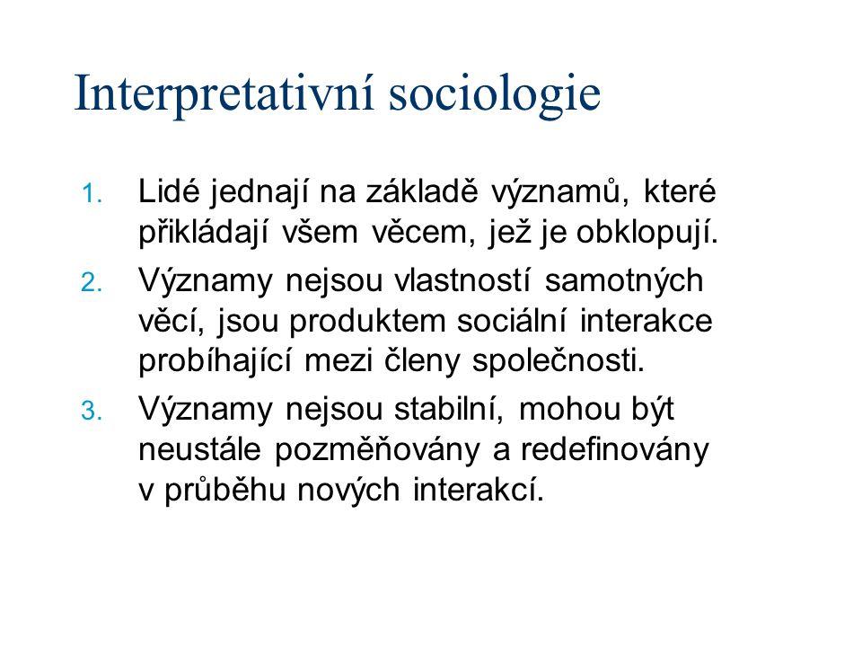 Interpretativní sociologie