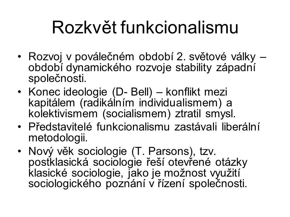 Rozkvět funkcionalismu