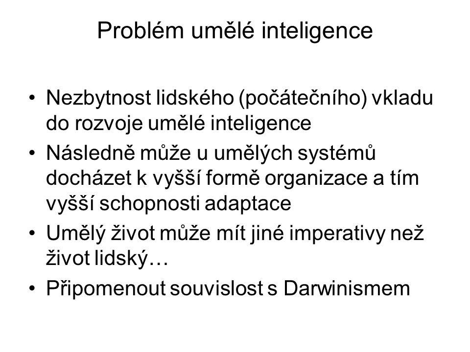 Problém umělé inteligence