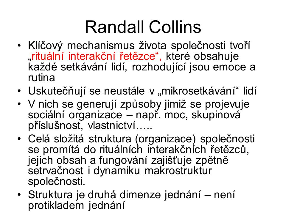 Randall Collins