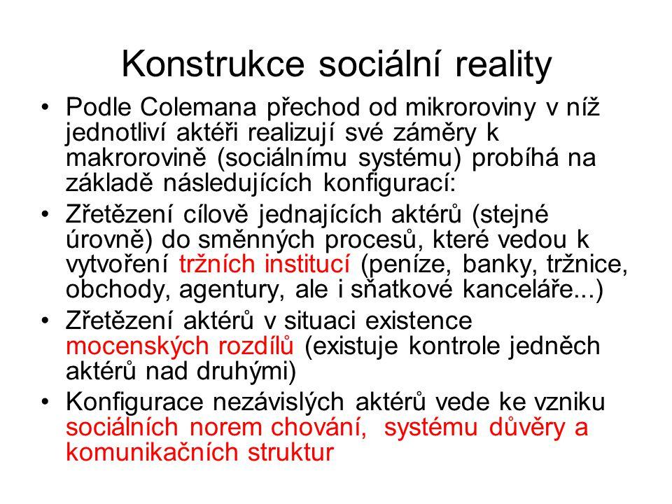 Konstrukce sociální reality