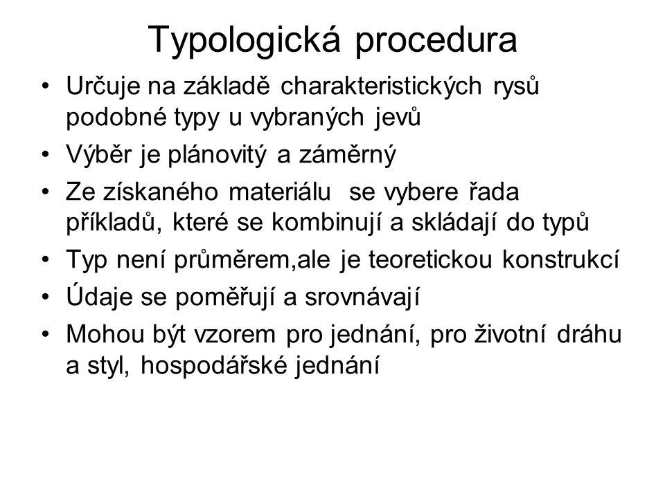 Typologická procedura
