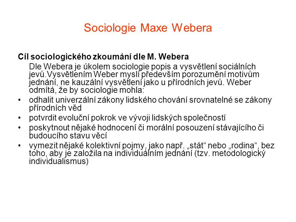 Sociologie Maxe Webera