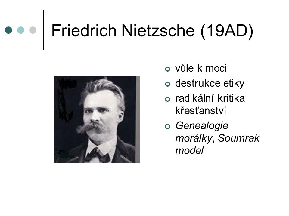 Friedrich Nietzsche (19AD)