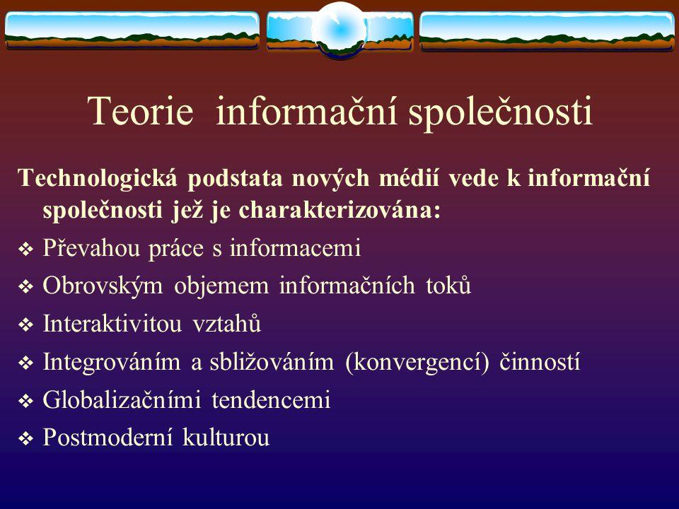 Teorie informační společnosti