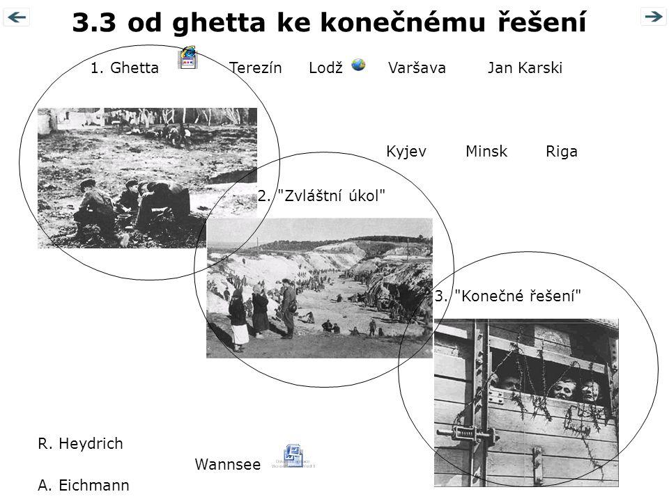 3.3 od ghetta ke konečnému řešení