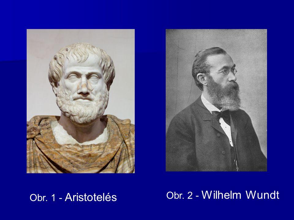 Obr. 2 - Wilhelm Wundt Obr. 1 - Aristotelés