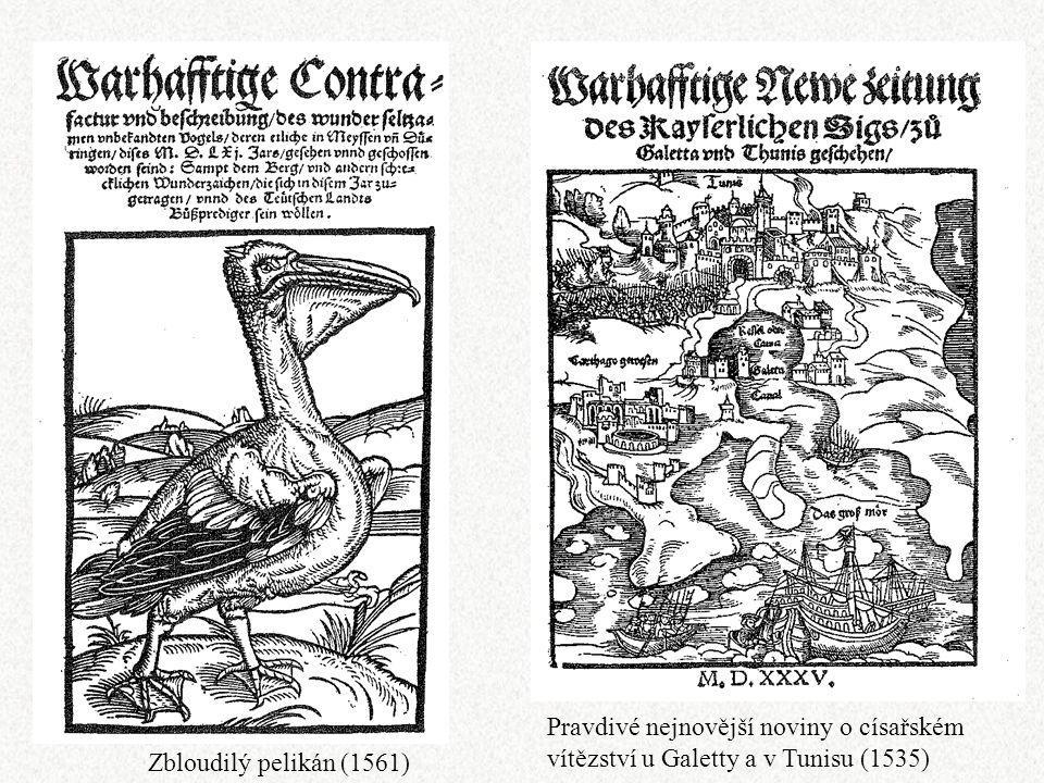Pravdivé nejnovější noviny o císařském vítězství u Galetty a v Tunisu (1535)