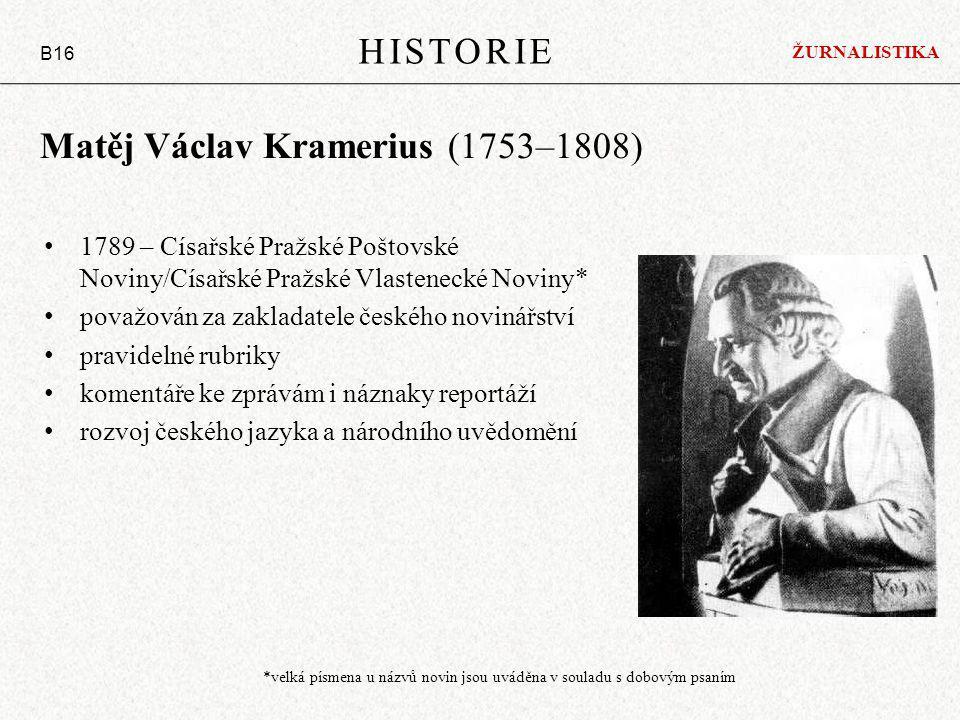 Matěj Václav Kramerius (1753–1808)