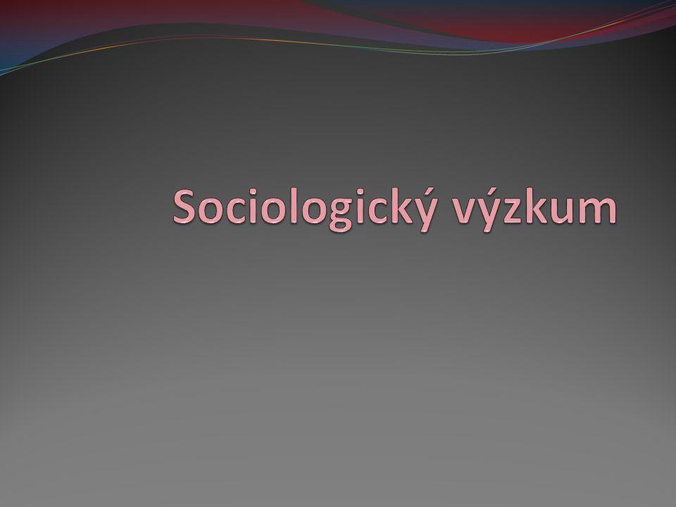 Sociologický výzkum
