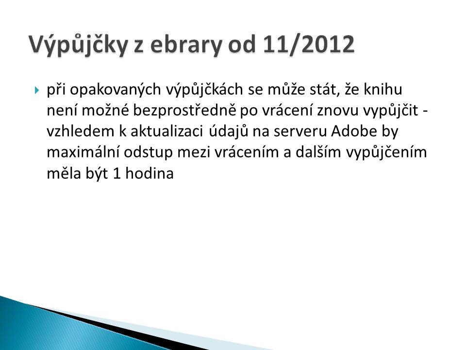 Výpůjčky z ebrary od 11/2012