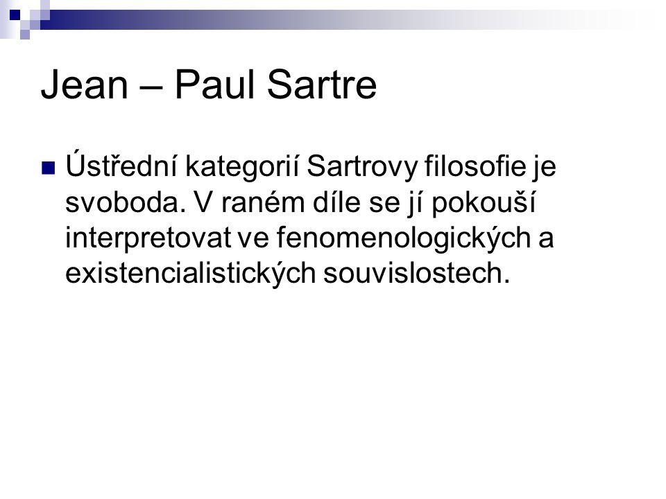 Jean – Paul Sartre