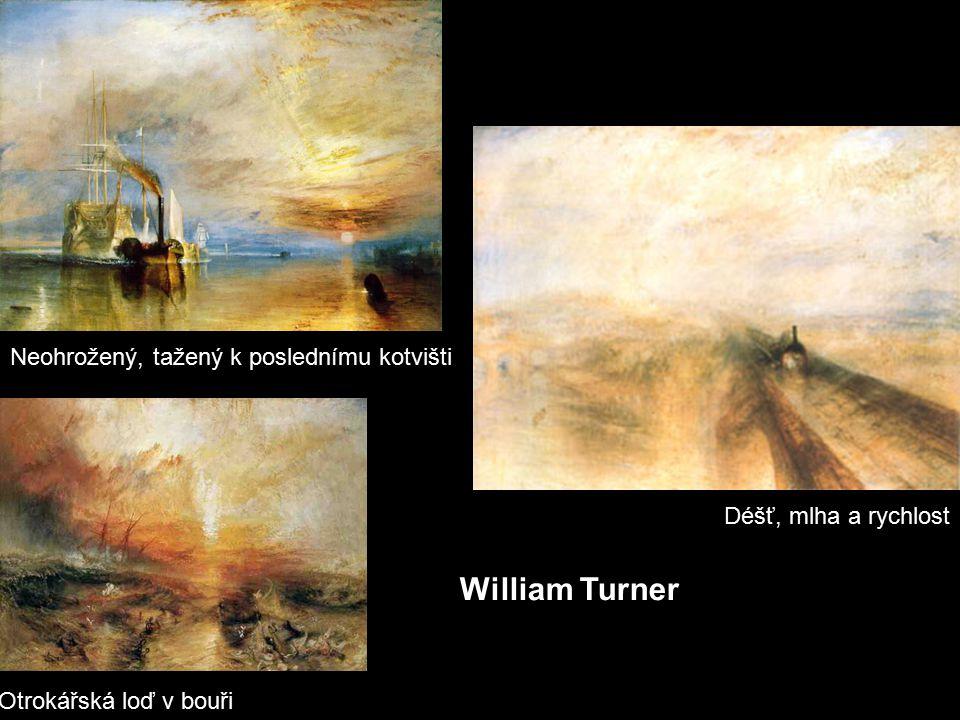 William Turner Neohrožený, tažený k poslednímu kotvišti