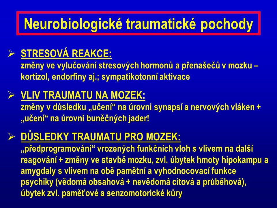 Neurobiologické traumatické pochody