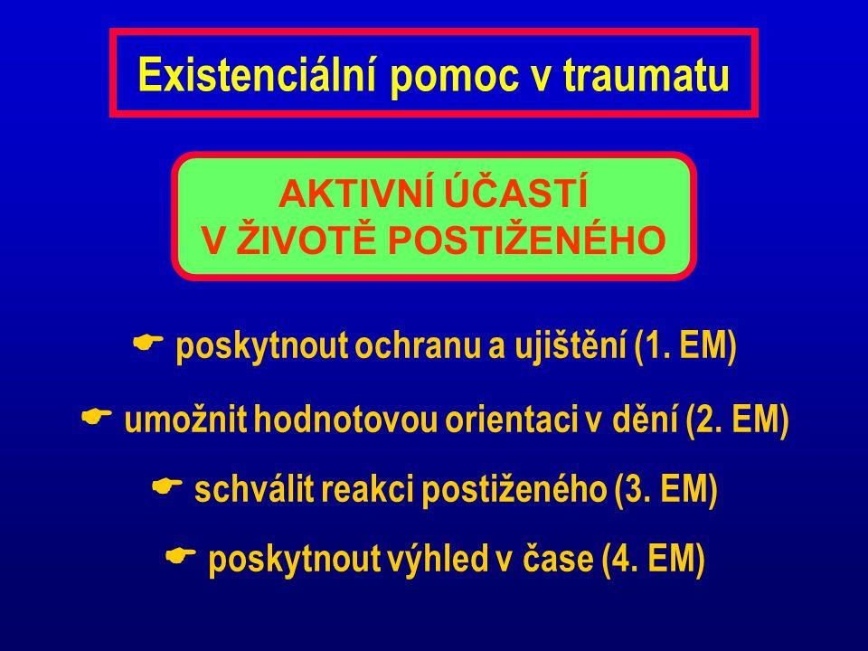 Existenciální pomoc v traumatu