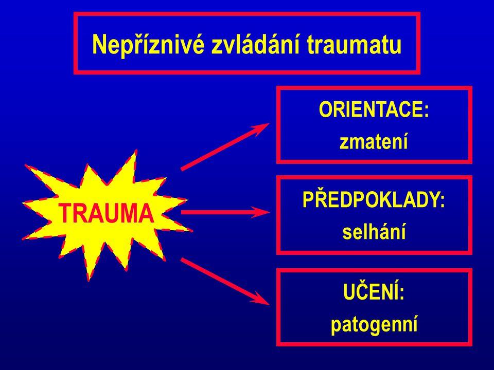 Nepříznivé zvládání traumatu