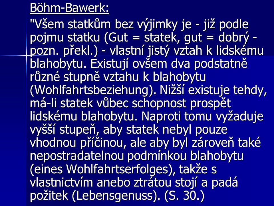 Böhm-Bawerk: